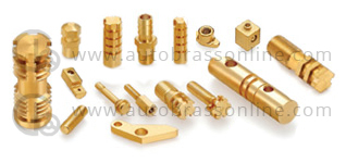 Brass pressed parts, brass screw machine parts